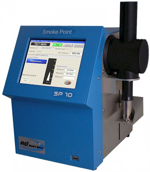 SP10 Smoke Point Tester